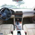 داخل اتاق BMW 525i 2001