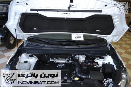 نحوه شارژ جی 7 باتری جک S5 اتومات - JAC - نوین باترینوین باتری